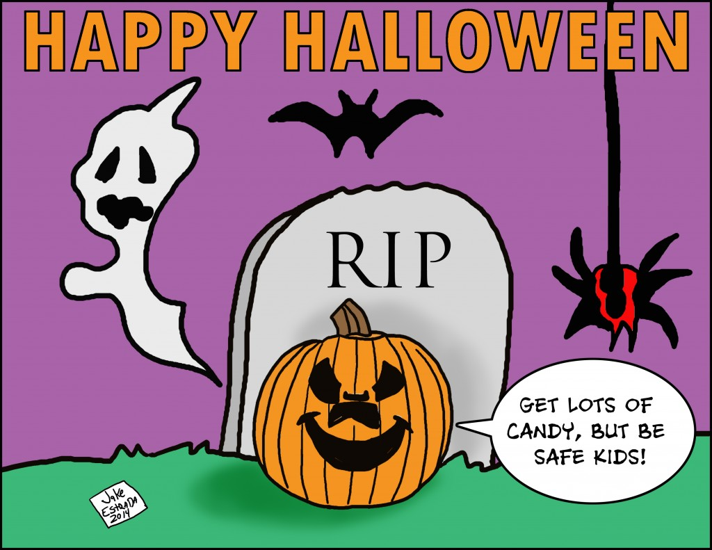 Spotlight Magazine Cartoon Corner October 2014