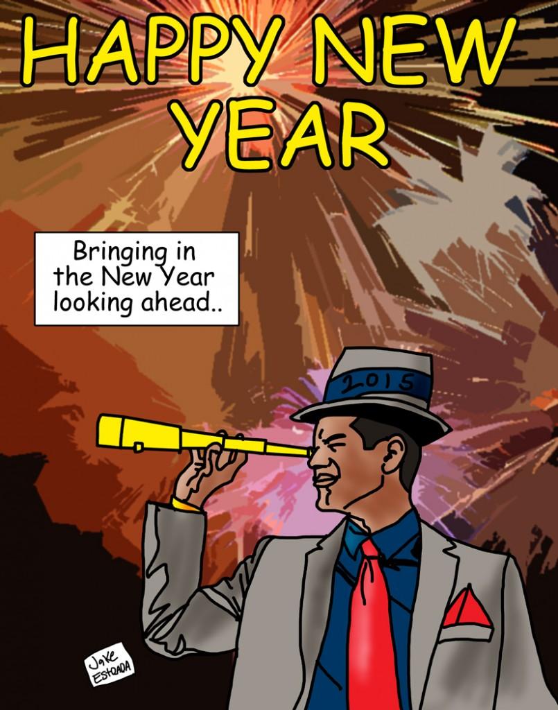 Spotlight Magazine Cartoon Corner January 2015